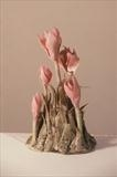 Autumn crocus by Joy Trpkovic B.A. MSD-C, Ceramics, Porcelain