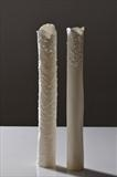 Tall vessel Coral Duo by Joy Trpkovic B.A., F.S.D-C, Ceramics